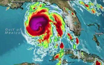 Σε «μείζονα κυκλώνα» κατηγορίας 3 ενισχύθηκε ο «Μάικλ»
