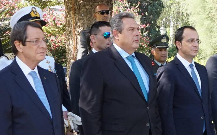 «Οι εορτασμοί θα είναι πλήρεις όταν η Κύπρος θα ελευθερωθεί»