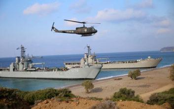 Οι πεζοναύτες χτύπησαν «τον εχθρό που κατέλαβε το 40% της Χίου»
