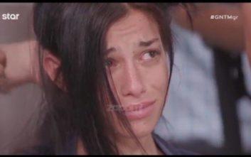 Έβαλε τα κλάματα για να μην της κόψουν τα μαλλιά στο Next Top Model