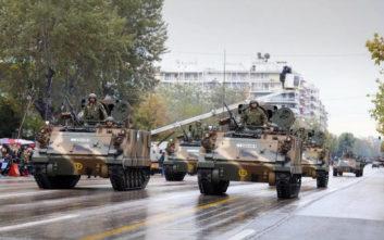 Δοκιμαστική παρέλαση Μηχανοκίνητων Τμημάτων σήμερα στην εθνική Θεσσαλονίκης - Μουδανιών