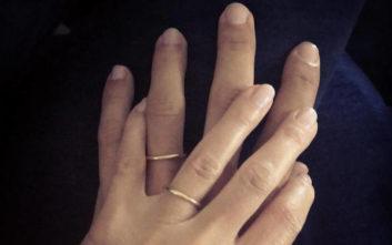Πασίγνωστη ηθοποιός παντρεύτηκε και το ανακοίνωσε με μια φωτογραφία