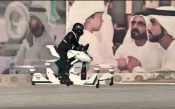 Ιπτάμενο όχημα αλά Star Wars απέκτησε η αστυνομία του Ντουμπάι