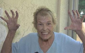 Πώς μια γιαγιά έκανε έναν γυμνό εισβολέα να το βάλει στα πόδια