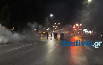 Eπεισόδια στην πορεία για τον Κωνσταντίνο Κατσίφα στη Θεσσαλονίκη