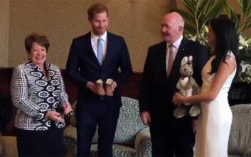 Χάρι και Μέγκαν έλαβαν τα πρώτα δώρα μετά την είδηση ότι περιμένουν παιδί