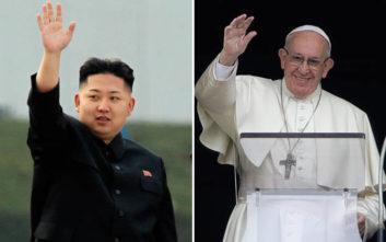 Τη Βόρεια Κορέα θέλει να επισκεφθεί ο Πάπας Φραγκίσκος