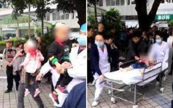 Γυναίκα μαχαίρωσε 14 παιδιά σε νηπιαγωγείο στην Κίνα