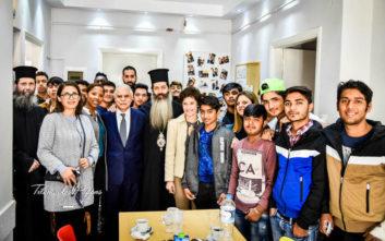 Στο πλευρό των προσφυγόπουλων της «Αποστολής» η Αρχιεπισκοπή Αθηνών και η Τοπική Αυτοδιοίκηση