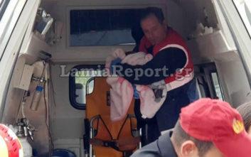 Μητέρα και μωρό που μόλις είχαν βγει από το μαιευτήριο τραυματίστηκαν σε τροχαίο