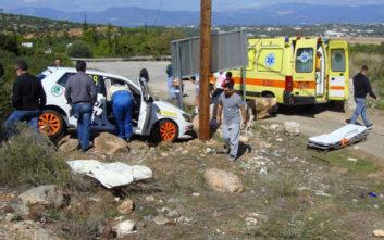Αγωνιστικό αυτοκίνητο χτύπησε θεατή στο «Ράλι Ευβοϊκού»