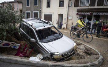 Στους 13 οι νεκροί από τις πλημμύρες στη Γαλλία