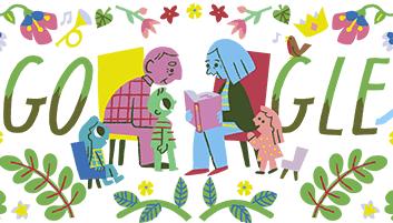 «Ημέρα του Παππού και της Γιαγιάς» στο doodle της Google