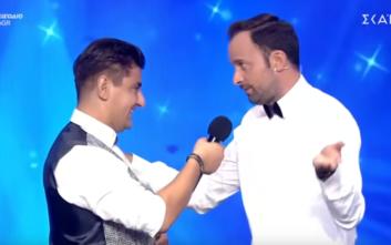 Ο Γιώργος Λιανός μιμείται τον Καπουτζίδη και δίνει ένα Golden Buzzer