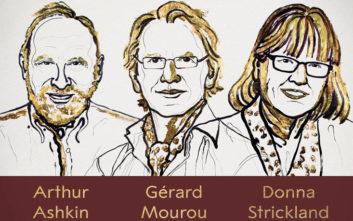 Επιστήμονες από τρεις χώρες μοιράζονται το Νόμπελ Φυσικής