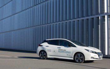 Αυτοκίνητο σταθεροποιεί δίκτυο ηλεκτροδότησης