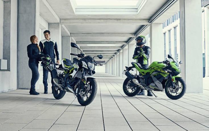 Τα δύο νέα εντυπωσιακά μικρά της Kawasaki