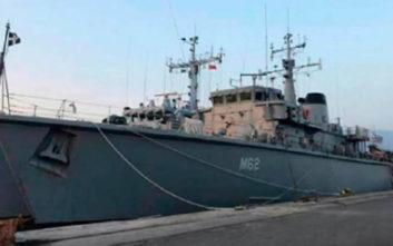 Το ελληνικό πολεμικό πλοίο που έδεσε στο λιμάνι της Σμύρνης