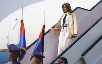 Η Αίγυπτος τελευταίος σταθμός της περιοδείας της Μελάνια Τραμπ στην Αφρική