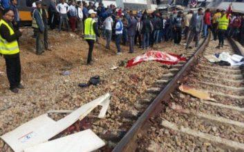 Τουλάχιστον έξι νεκροί από τον εκτροχιασμό τρένου στο Μαρόκο