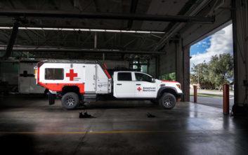 Ο Τιτάνας του Αμερικάνικου Ερυθρού Σταυρού