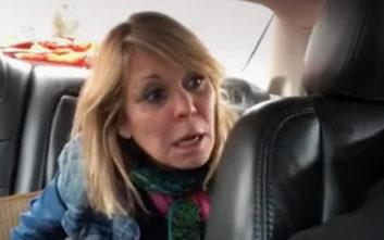 H λογομαχία στο ταξί έφερε… εκσφενδονισμό μπίρας