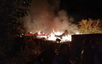 Ισχυρή έκρηξη σε ρακοκάζανο στην Κρήτη