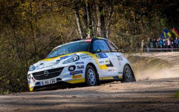 Σάρωσε τους τίτλους στο Ευρωπαϊκό η ADAC Opel Rallye Junior Team