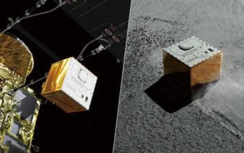 Το ιαπωνικό Hayabusa-2 έστειλε ακόμη ένα «ρόβερ» που χοροπηδά σε αστεροειδή