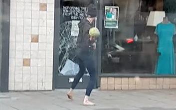 Προσπάθησε να παραβιάσει την πόρτα καταστήματος με ένα… καρπούζι