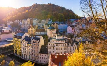 Η παραμυθένια λουτρόπολη της Τσεχίας