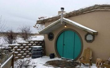 Ένα σπίτι εμπνευσμένο από τα κινηματογραφικά χόμπιτ