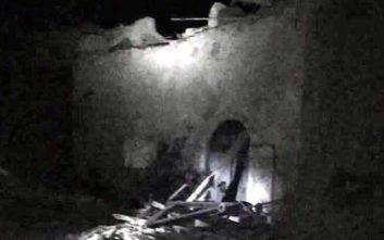 Το καστρομονάστηρο του Αγίου Διονυσίου που υπέστη ζημιές από τον σεισμό
