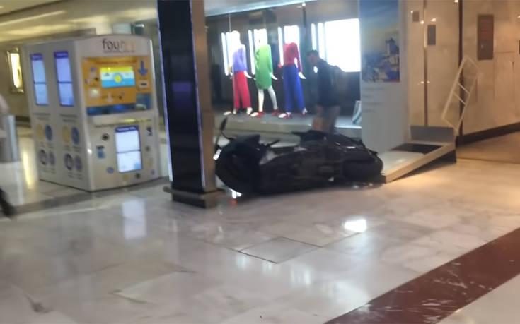 Χαμός σε εμπορικό κέντρο από ληστεία που πήγε λάθος