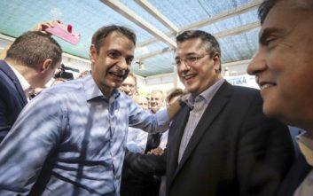 Μητσοτάκης: Αμέριστη στήριξη της ΝΔ στη νέα υποψηφιότητα Τζιτζικώστα