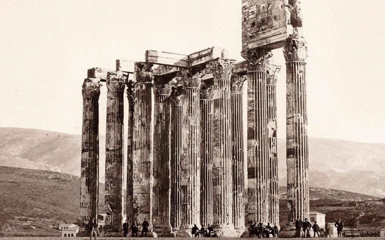 Το σαγηνευτικό μυστήριο με τους Στύλους του Ολυμπίου Διός και μια αινιγματική φωτογραφία του 19ου αιώνα