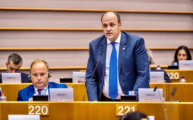 Ο αντιπρόεδρος της Λουξ ομιλητής στο 5ο Ευρωπαϊκό Κοινοβούλιο Επιχειρηματιών
