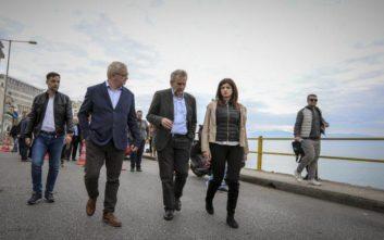 Στη γέφυρα της Καβάλας που κατέρρευσε Νοτοπούλου και κλιμάκια μηχανικών