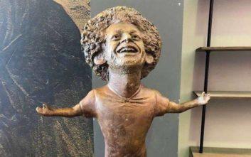Το άγαλμα του Σαλάχ μοιάζει με… Ευχούλη