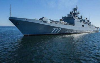 Νέα φρεγάτα στέλνει η Ρωσία στη Μεσόγειο