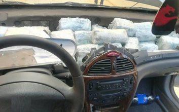 Το λαγωνικό της ΕΛΑΣ που βρήκε 32 κιλά κάνναβη κρυμμένα σε αυτοκίνητο