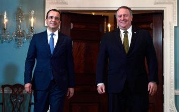 Στέιτ Ντιπάρτμεντ: Οι ΗΠΑ στηρίζουν το δικαίωμα της Κύπρου στην ΑΟΖ