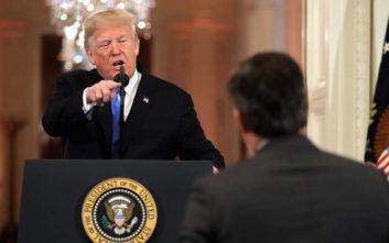 Ο Τραμπ… σνομπάρει για τρίτη χρόνια το δείπνο των ανταποκριτών του Λευκού Οίκου