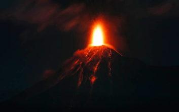 Εξερράγη και πάλι το ηφαίστειο Φουέγο στη Γουατεμάλα