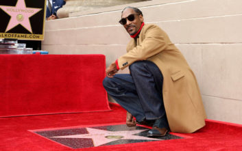 Ο Snoop Dogg ευχαρίστησε τον… εαυτό του για το αστέρι στη Λεωφόρο της Δόξας