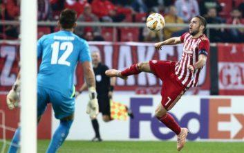 Φορτούνης και Τσιμίκας στην κορυφαία 11άδα του Europa League