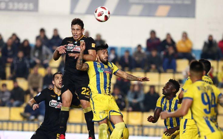 Το σπάνιο φαινόμενο για το ελληνικό ποδόσφαιρο στο Παναιτωλικός-ΑΕΚ
