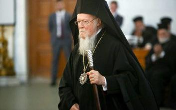 Βαρθολομαίος: «Μεταλαμβάνοντας το Σώμα και το Αίμα του Κυρίου, δεν υπάρχει κανένας κίνδυνος να πάρουμε το μικρόβιον του κορονοϊού»