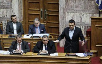 Τσίπρας: Η οικονομία ανακάμπτει και η επιστροφή των αναδρομικών είναι το πρώτο μέτρο
