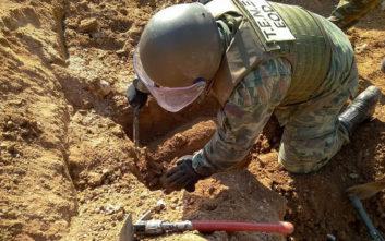 Βρέθηκαν βόμβες στο δήμο Ιλίου